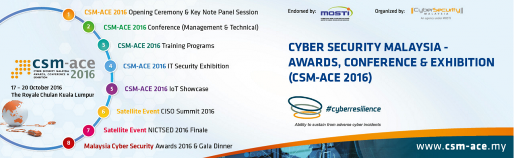 CSM – ACE 2016 Exhibition & Conference